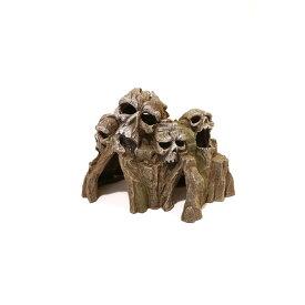 (ローズウッド) Rosewood 水槽用 ブルーリボン 廃墟とスカル 髑髏マウンテン オーナメント アクアリウム 置物 熱帯魚 【楽天海外直送】