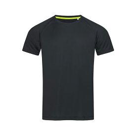 (ステッドマン) Stedman メンズ Active Raglan スポーツ 半袖 メッシュ Tシャツ トレーニングトップ 【楽天海外直送】