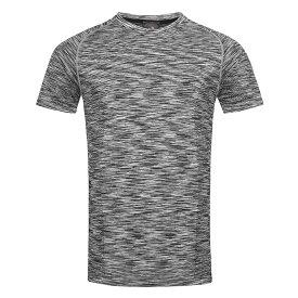 (ステッドマン) Stedman メンズ Active シームレス ラグラン スポーツ 半袖 Tシャツ トレーニングトップ 【楽天海外直送】