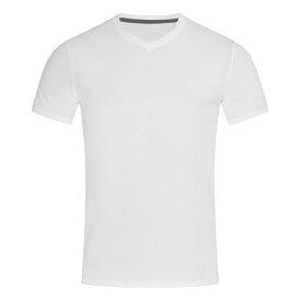 (ステッドマン) Stedman Stars メンズ Clive Vネック 半袖 Tシャツ 無地 【楽天海外直送】
