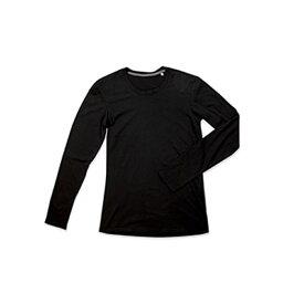 (ステッドマン) Stedman メンズ Clive クルーネック 長袖 Tシャツ カットソー 無地 【楽天海外直送】