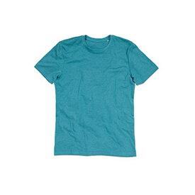 (ステッドマン) Stedman メンズ Luke メランジェ クルーネック 半袖 Tシャツ 無地 【楽天海外直送】