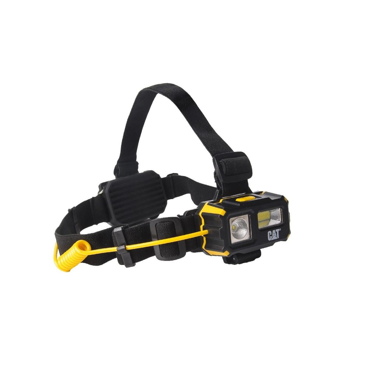 (キャタピラー) Caterpillar 4ファンクション ヘッドランプ ヘッドライト 作業用ライト アウトドア (250ルーメン) 【楽天海外直送】
