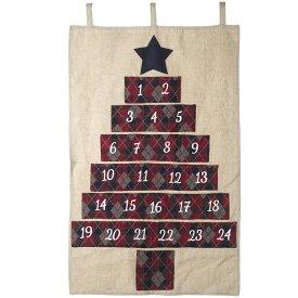 (ゲインズボローギフトウェア) Gainsborough Giftware クリスマス 布製 アドベントカレンダー デコレーション 飾り 【楽天海外直送】