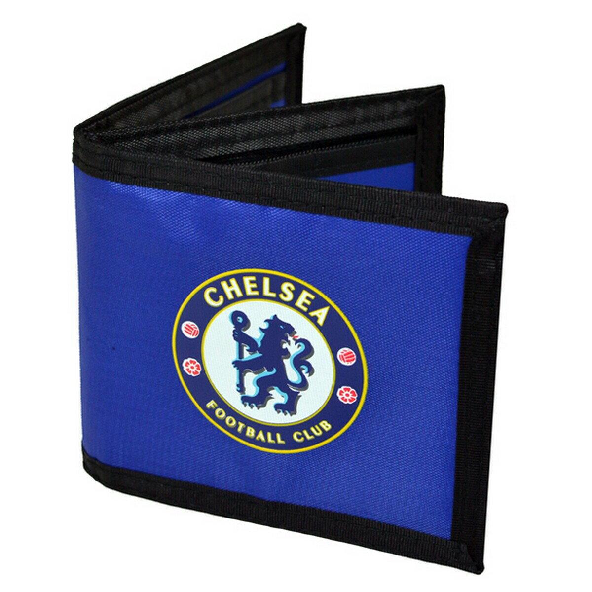 チェルシー フットボールクラブ Chelsea FC オフィシャル商品 ナイロン 財布 ウォレット 【楽天海外直送】
