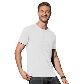 (ステッドマン) Stedman メンズ Shawn ヘンリーネック 半袖 Tシャツ 【楽天海外直送】