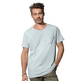 (ステッドマン) Stedman メンズ Shawn オーバーサイズ スラブ クルーネック 半袖 Tシャツ 【楽天海外直送】