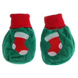 c29fbc365f3fe (ナーサリー・タイム) Nursery Time ベビー・赤ちゃん用 クリスマス ブーティー 靴下 ソックス (