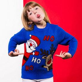 (クリスマスショップ) Christmas Shop キッズ・子供用 Ho Ho Ho クリスマスセーター ニット 男の子 【楽天海外直送】