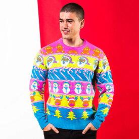 (クリスマスショップ) Christmas Shop 大人用 ユニックス カラフル クリスマスセーター ニット 【楽天海外直送】