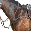 (キンケード) Kincade 馬用 レザー 5ポイント 胸がい ブレストプレート 馬具 乗馬 ホースライディング 【楽天海外直送】