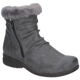 (フリート・アンド・フォスター) Fleet & Foster レディース Aurora ファスナー付きブーツ 婦人靴 カジュアル 防寒 女性用 【楽天海外直送】