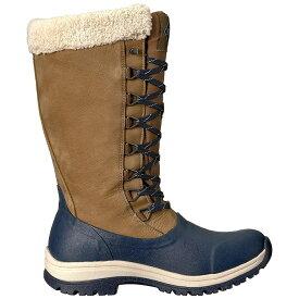 (マックブーツ) Muck Boots レディース Arctic Apres レースアップ トール ウェリントンブーツ 婦人靴 アウトドア ブーツ 女性用 【楽天海外直送】