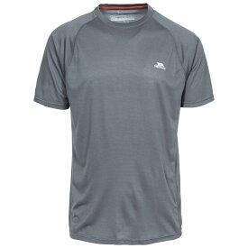 (トレスパス) Trespass メンズ Esker アクティブウェア Tシャツ 半袖 速乾 トップス 【楽天海外直送】