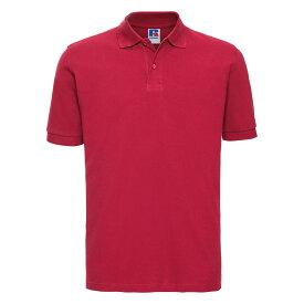 (ラッセル) Russell メンズ 綿100% 半袖 ポロシャツ 襟 【楽天海外直送】