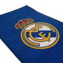 レアル・マドリード フットボールクラブ Real Madrid CF オフィシャル商品 ロゴ入り ラグ フロアマット 【楽天海外直送】