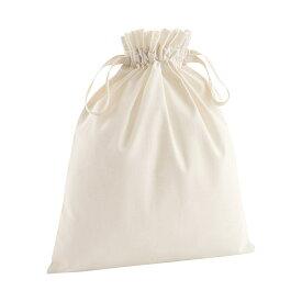 (ウエストフォード・ミル) Westford Mill ソフト オーガニックコットン 巾着袋 コットンサック コットンポーチ (2パック) 【楽天海外直送】