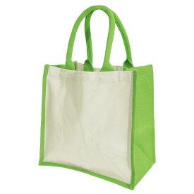 (ウエストフォード・ミル) Westford Mill プリンターズ ミディ ジュート ショッパーバッグ お買い物かばん エコバッグ 14リットル (2パック) 【楽天海外直送】