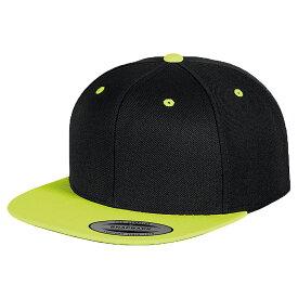 (ユーポン) Yupoong メンズ クラシック プレミアム ツートーン スナップバック キャップ ストリート カジュアル ファッション 帽子 ハット (2パック) 【楽天海外直送】