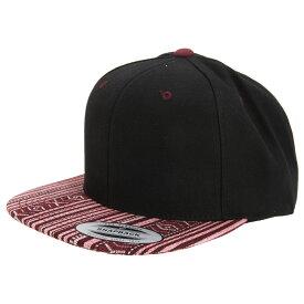 (ユーポン) Yupoong メンズ ファッションプリント プレミアム スナップバック キャップ 帽子 ハット (2パック) 【楽天海外直送】