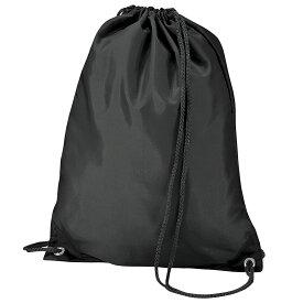 (バッグベース) Bagbase 耐水加工 スポーツジムサック キャリーバッグ ナップサック ヒモ付きバッグ 11リットル (2パック) 【楽天海外直送】