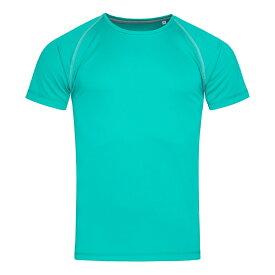 (ステッドマン) Stedman メンズ Active Raglan スポーツ 半袖 Tシャツ トレーニングトップ 【楽天海外直送】
