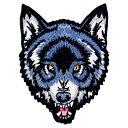 (アンオーソドックス・コレクティブ) Unorthodox Collective オフィシャル商品 狼 ウルフ ワッペン アップリケ 【楽天海外直送】
