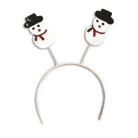 (ブリストル・ノベルティー) Bristol Novelty クリスマス パーティー コスプレ・仮装用 スノーマンつき ヘアバンド カチューシャ 【楽天海外直送】