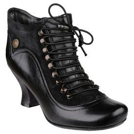 (ハッシュパピー) Hush Puppies レディース Vivianna レザー レースアップ ヒールブーツ 婦人靴 カジュアル ブーツ 女性用 【楽天海外直送】