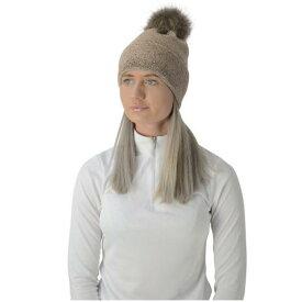 (ハイ) HyFASHION レディース Alaska ディアマンテ ポンポン付き 帽子 ニット帽 乗馬 防寒 ホースライディング 【楽天海外直送】