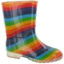 (コッツウォルド) Cotswold キッズ・子供・ジュニア レインボー レインブーツ ポリ塩化ビニール 子供用長靴 レインシ…