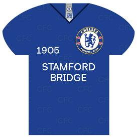 チェルシー フットボールクラブ Chelsea FC オフィシャル商品 サッカーシャツ型 ブリキ看板 【楽天海外直送】