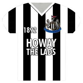 ニューカッスル・ユナイテッド フットボールクラブ Newcastle United FC オフィシャル商品 サッカーシャツ型 ブリキ看板 【楽天海外直送】