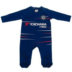 チェルシー フットボールクラブ Chelsea FC オフィシャル商品 赤ちゃん・ベビー用 スリープスーツ 長袖 ロンパース 【楽天海外直送】