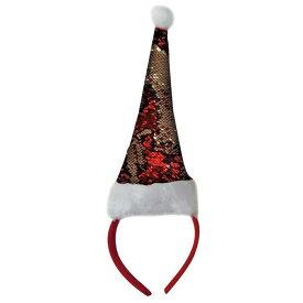 (クリスマスショップ) Christmas Shop クリスマス スパンコール サンタハット カチューシャ ヘッドバンド 【楽天海外直送】