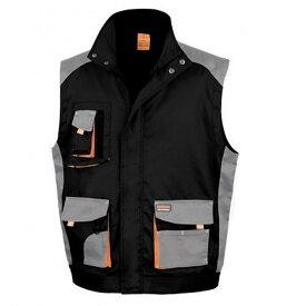 (リゾルト) Result メンズ Work-Guard ワークウェア Lite ベスト ジャケット 袖なし ジレ 作業服 【楽天海外直送】