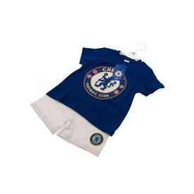 チェルシー フットボールクラブ Chelsea FC オフィシャル商品 ベビー/キッズ Tシャツ・ショートパンツセット サッカー 【楽天海外直送】