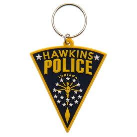 (ストレンジャー・シングス 未知の世界) Stranger Things オフィシャル商品 PVC Hawkins キーホルダー 【楽天海外直送】