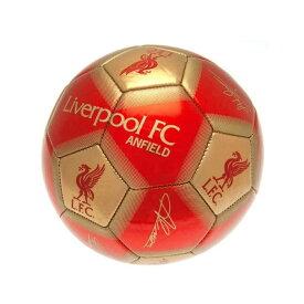 リバプール・フットボールクラブ Liverpool FC オフィシャル商品 サイン サッカーボール 【楽天海外直送】