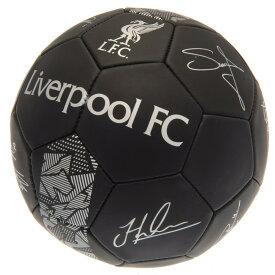リバプール・フットボールクラブ Liverpool FC オフィシャル商品 Phantom サイン サッカーボール 【楽天海外直送】