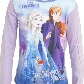 (ディズニー) Disney アナと雪の女王2 オフィシャル商品 子供用 キャラクター 長袖 パジャマ 上下セット 女の子 【海外通販】