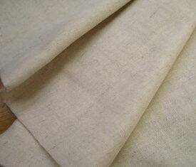 【生地 ダブルガーゼ】綿麻Wガーゼ 生成(30-4850)/コットンリネン 生地 リネン 無地生地 無地ダブルガーゼ plain