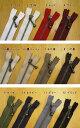 YKK【玉付きファスナー・アンティークゴールド】35cmジッパー チャック ポーチ ボールチェーンファスナー