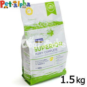 (リニューアル済)フィッシュ4ドッグ スーペリア パピー1.5kg