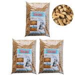 猫砂おがくずペレット10.5kg(3.5kg入:約5.6L×3袋)