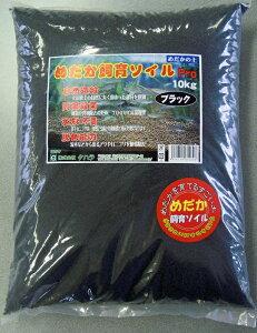 めだか飼育用底土 ろ過ソイル ブラック 10kg