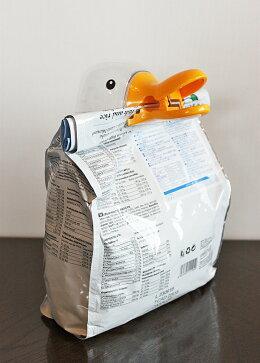 【小物】可愛いアヒルの袋閉じ(袋クリップ)&計量カップ♪(アヒルドライフフードドッグフードキャットフード餌えさフード袋酸化防止袋を閉じる密閉保存用クリップ計量カップおしゃれオシャレアイデア商品キャラクターグッズかわいいインスタSNS)