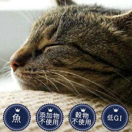 【キャットフード】フィッシュ4猫サバ1.5kg【全年齢対応フード】(穀物不使用無添加無着色グレインフリーグルテンフリー魚DHAEPAオメガ3脂肪酸オメガ6脂肪酸ヘアボール毛玉尿路サポート消化良好猫用フードプレミアムフード餌エサえさご飯ごはん)
