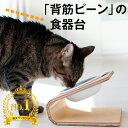 【犬 猫 食器台】傾斜のある食器台(Sサイズ)( 犬用 猫用 食器台 フードボウルスタンド 食器スタンド スタンド テー…