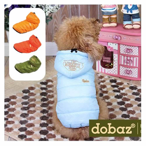 【犬 服 冬服 コート ドッグウェア ドッグウエア 犬用】ワンダフルダウンジャケット【dobaz】【メール便OK】 ※セール商品につき、返品、お取り換えはできません